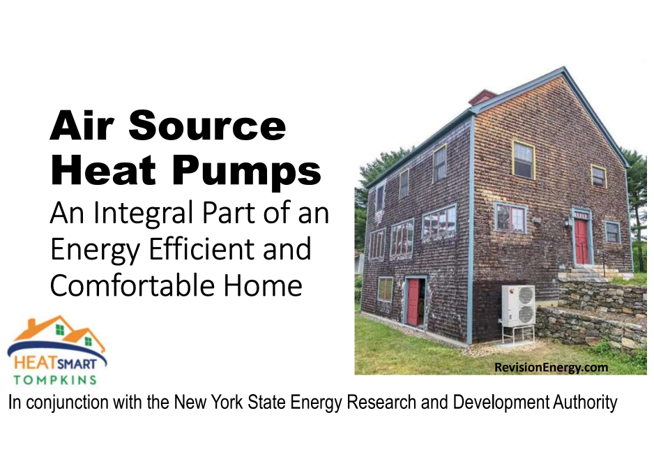 Air Source Heat Pumps: An Integral Park of an Energy Efficient and Comfortable Home
